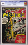 Golden Age (1938-1955):War, Star Spangled War Stories #132 (#2) (DC, 1952) CGC VF 8.0 Off-white to white pages....