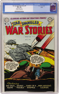 Star Spangled War Stories #9 Salida pedigree (DC, 1953) CGC VF+ 8.5 Off-white to white pages