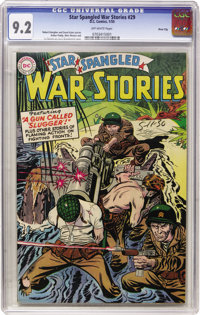 Star Spangled War Stories #29 River City pedigree (DC, 1955) CGC NM- 9.2 Off-white pages