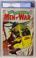Golden Age (1938-1955):War, All-American Men of War #10 (DC, 1954) CGC VF 8.0 Off-whitepages....