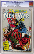 Golden Age (1938-1955):War, All-American Men of War #15 (DC, 1954) CGC VF 8.0 Off-white towhite pages....