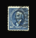 Stamps, #277, 1895, $2 Bright Blue, F-VF 75 PSE. (Used)....