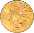 Indian Eagles, 1914 $10 MS64 PCGS....
