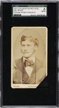 Baseball Cards:Singles (Pre-1930), 1872 CDV Boston Red Sox Cal McVey SGC Authentic - From the GeorgeWright Collection....