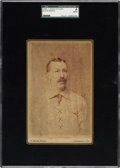 Baseball Cards:Singles (Pre-1930), 1886 Buck Ewing Cabinet Photograph by Joseph Wood SGC Authentic....