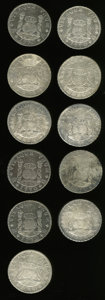 Mexico, Mexico: An eleven-piece lot of 1770 Mo Pillar 8 Reales,... (Total:11 coins)