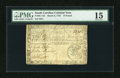 Colonial Notes:South Carolina, South Carolina March 6, 1776 L15 PMG Choice Fine 15....