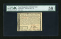 Colonial Notes:New Hampshire, New Hampshire April 29, 1780 $8 PMG Choice About Unc 58 EPQ....