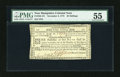 Colonial Notes:New Hampshire, New Hampshire November 3, 1775 30s PMG About Uncirculated 55....