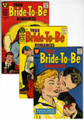 Silver Age (1956-1969):Romance, True Bride-to-Be Romances #24, 26, and 29 File Copy Group Plus(Harvey, 1956-58) Condition: Average VF+.... (Total: 4 Comic Books)