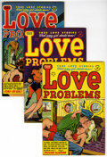 Golden Age (1938-1955):Romance, True Love Problems and Advice Illustrated File Copies Group (Harvey, 1952-58) Condition: Average VF+.... (Total: 7 Comic Books)