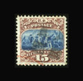 Stamps, #118, 1869, 15c Brown & Blue. (Used)....