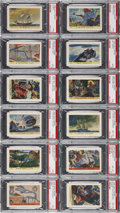 "Non-Sport Cards:Sets, 1936 F375 Pac-Kups ""Jolly Roger Pirates"" Complete Set (48). ..."