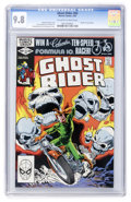 Modern Age (1980-Present):Superhero, Ghost Rider #65 (Marvel, 1982) CGC NM/MT 9.8 Off-white to whitepages....