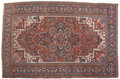 Rugs & Textiles:Carpets, A PERSIAN HERIZ CARPET. Mid 19th Century. 134-1/2 x 89 inches(341.6 x 226.1 cm). ...