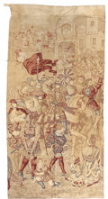 Rugs & Textiles:Tapestries, A CONTINENTAL TAPESTRY. Early 20th Century. 104 x 52 inches (264.2x 132.1 cm). ...