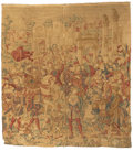 Rugs & Textiles:Tapestries, A FRENCH AUBUSSON-STYLE TAPESTRY. Early 20th Century. 113 x 106 inches (287.0 x 269.2 cm). ...