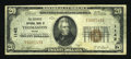 National Bank Notes:Maine, Thomaston, ME - $20 1929 Ty. 1 The Georges NB Ch. # 1142. ...