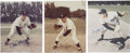 Autographs:Photos, New York Yankee Signed Photographs Lot Of 3....