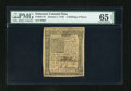 Colonial Notes:Delaware, Delaware January 1, 1776 2s/6d PMG Gem Uncirculated 65 EPQ....
