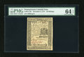 Colonial Notes:Pennsylvania, Pennsylvania December 8, 1775 30s PMG Choice Uncirculated 64EPQ....