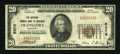 National Bank Notes:Kentucky, Frankfort, KY - $20 1929 Ty. 1 The National Branch Bank of KentuckyCh. # 5376. ...