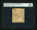 Colonial Notes:Pennsylvania, Pennsylvania March 20, 1771 20s PMG About Uncirculated 55....