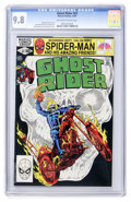 Modern Age (1980-Present):Superhero, Ghost Rider #63 (Marvel, 1981) CGC NM/MT 9.8 Off-white to whitepages....