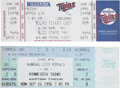 Baseball Collectibles:Tickets, 3000th Hit Tickets Eddie Murray And Paul Molitor....