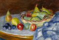Paintings, CHARLES CAMOIN (French, 1879-1965). Nature Morte aux Poires, 1922. Oil on canvas. 14-7/8 x 21-5/8 inches (38 x 55 cm). S...