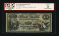 National Bank Notes:Maryland, Baltimore, MD - $10 1875 Fr. 417 The Farmers & Merchants NB Ch.# 1337. ...
