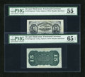 Fractional Currency:Third Issue, Fr. 1272SP 15c Third Issue Wide Margin Tear PMG About Uncirculated 55 and Gem Uncirculated 65 EPQ.... (Total: 2 notes)