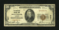 National Bank Notes:Vermont, Montpelier, VT - $20 1929 Ty. 1 The Montpelier NB Ch. # 857. ...