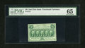 Fractional Currency:First Issue, Fr. 1312 50c First Issue PMG Gem Uncirculated 65....