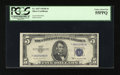 Small Size:Silver Certificates, Fr. 1657* $5 1953B Silver Certificate. PCGS Choice About New 55PPQ.. ...