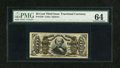 Fractional Currency:Third Issue, Fr. 1328 50c Third Issue Spinner PMG Choice Uncirculated 64....