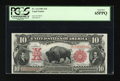 Large Size:Legal Tender Notes, Fr. 114 $10 1901 Legal Tender PCGS Gem New 65PPQ....