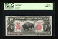Large Size:Legal Tender Notes, Fr. 122 $10 1901 Legal Tender PCGS Gem New 66PPQ....
