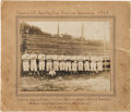 Baseball Collectibles:Photos, 1908 Greenville Spinners Team Cabinet Photograph with JoeJackson....