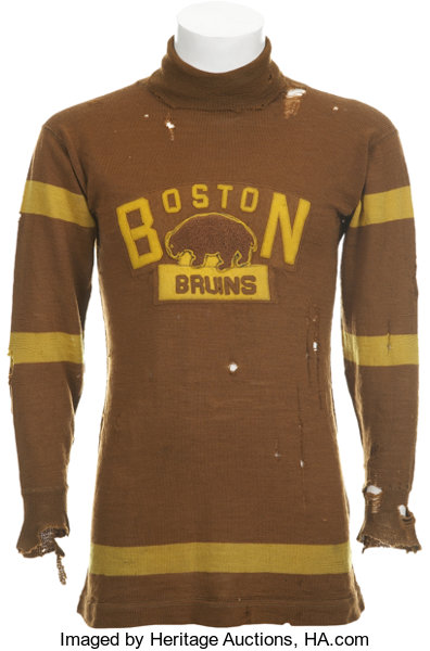best website 42cb3 bf61d 1924-25 Boston Bruins Game Worn Sweater from First NHL ...