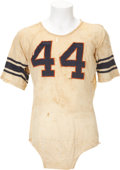 Football Collectibles:Uniforms, 1961 Ernie Davis Game Worn Jersey, Heisman Trophy Season....