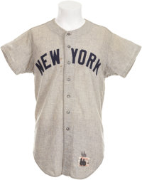 1966 Mickey Mantle Game Worn Jersey