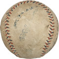 "Autographs:Baseballs, Circa 1919 ""Shoeless"" Joe Jackson & Buck Weaver SignedBaseball...."
