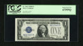 Small Size:Silver Certificates, Fr. 1602 $1 1928B Silver Certificate. PCGS Superb Gem New 67PPQ.. ...