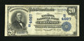 National Bank Notes:West Virginia, Charleston, WV - $20 1902 Plain Back Fr. 654 The Kanawha NB Ch. #(S)4667. ...