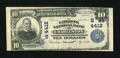 National Bank Notes:West Virginia, Charleston, WV - $10 1902 Plain Back Fr. 627 The Citizens NB Ch. #(S)4412. ...