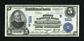 National Bank Notes:Virginia, Richmond, VA - $5 1902 Date Back Fr. 590 The First NB Ch. # (S).1111. ...