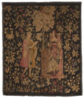 Rugs & Textiles:Tapestries, A CONTINENTAL VELVET TAPESTRY. Early 20th Century. 63-1/2 x 55inches (161.3 x 139.7 cm). ...