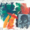 Fine Art - Painting, American:Contemporary   (1950 to present)  , ROBERT RAUSCHENBERG (American, 1925-2008). Earth Summit,1992. Screenprint. 25 x 25 inches (63.5 x 63.5 cm). Copyright R...