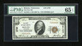 National Bank Notes:Tennessee, Bristol, TN - $10 1929 Ty. 1 The First NB Ch. # 2796. ...